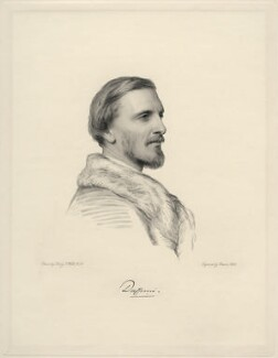 Frederick Temple Hamilton-Temple-Blackwood, 1st Marquess of Dufferin and Ava, by Charles Holl, after  Henry Tanworth Wells, 1869 or after - NPG D20714 - © National Portrait Gallery, London
