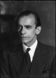 Malcolm Sargent, by Bassano Ltd, 22 June 1938 - NPG x127580 - © National Portrait Gallery, London