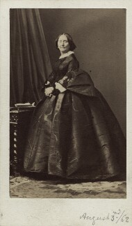 Emily Harriet Stanhope (née Kerrison), Countess Stanhope, by Disdéri - NPG Ax30360