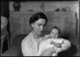 Mary Douglas Dolmetsch (née Ferguson); François Dolmetsch, by Bassano Ltd - NPG x127604