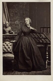 Mary Catherine Lygon (née Stanhope), Countess Beauchamp, by Camille Silvy - NPG Ax30367