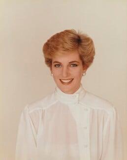 Diana, Princess of Wales, by Terence Donovan - NPG P716(5)