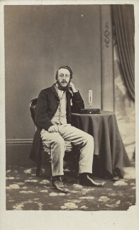 George James Symons, by The London Photographic Company - NPG Ax30377