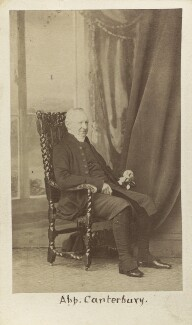 John Bird Sumner, by Caldesi, Blanford & Co - NPG Ax30378
