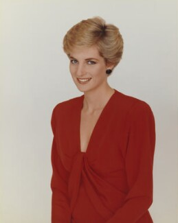 Diana, Princess of Wales, by Terence Donovan - NPG P716(7)