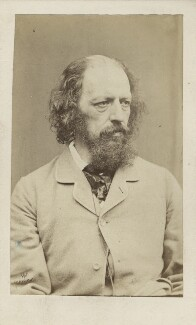 Alfred, Lord Tennyson, by William Jeffrey - NPG Ax30389