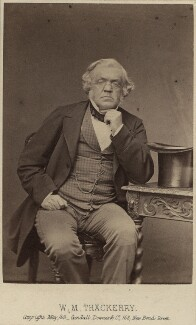 William Makepeace Thackeray, by Cundall, Downes & Co - NPG Ax30391