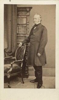 Spencer Horatio Walpole, by William Edward Kilburn, early-mid 1860s - NPG Ax30399 - © National Portrait Gallery, London