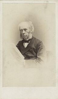 Sir Joseph Whitworth, 1st Bt, by C.A. Duval & Co (Charles Allen Du Val) - NPG Ax30401
