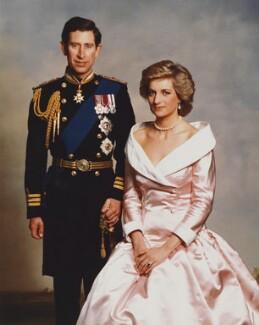 Prince Charles; Diana, Princess of Wales, by Terence Donovan - NPG P716(10)
