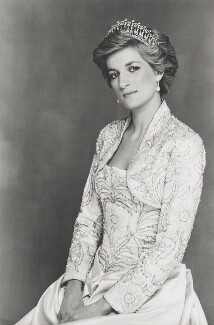 Diana, Princess of Wales, by Terence Daniel Donovan, 1990 - NPG  - Photo Terence Donovan, © The Terence Donovan Archive