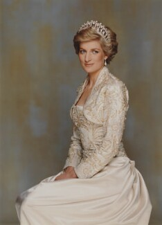 Diana, Princess of Wales, by Terence Donovan - NPG P716(12)