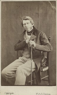John Ruskin, by W. & D. Downey - NPG Ax14797