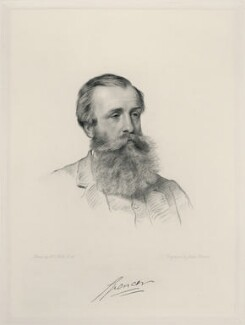 John Poyntz Spencer, 5th Earl Spencer, by Joseph Brown, after  Henry Tanworth Wells, 1878 or after - NPG D20721 - © National Portrait Gallery, London