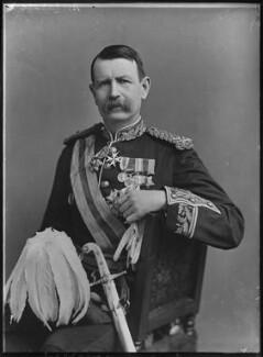 Sir Charles Warren, by Alexander Bassano - NPG x127653
