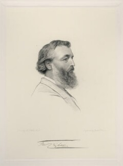 Frederic Leighton, Baron Leighton, by Joseph Brown, after  Henry Tanworth Wells - NPG D20725