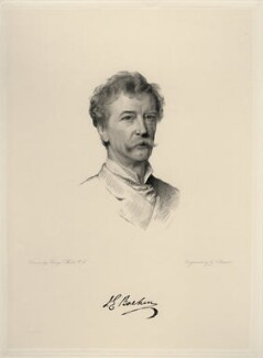 Sir Joseph Edgar Boehm, 1st Bt, by George J. Stodart, after  Henry Tanworth Wells - NPG D20731