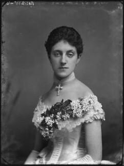 Mrs Chinnery, by Alexander Bassano - NPG x127664