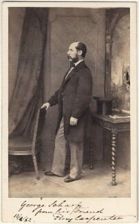 Percy Carpenter, by Dickinson Brothers, circa 1862 - NPG Ax5093 - © National Portrait Gallery, London