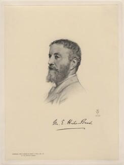 Michael Edward Hicks Beach, 1st Earl St Aldwyn, after Henry Tanworth Wells - NPG D20738