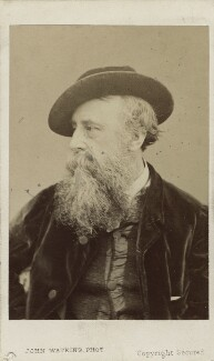 George Frederic Watts, by John Watkins, 1870s - NPG Ax14830 - © National Portrait Gallery, London