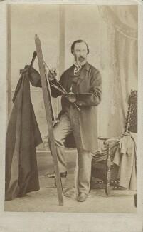 Alfred Elmore, by Caldesi, Blanford & Co - NPG Ax14836