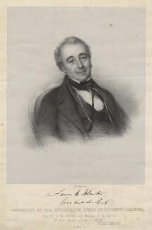James Henry Johnston, by Edward Morton, after  Unknown artist - NPG D21239