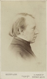 George Richmond, by Elliott & Fry - NPG Ax14846