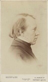George Richmond, by Elliott & Fry, 1860s - NPG Ax14846 - © National Portrait Gallery, London
