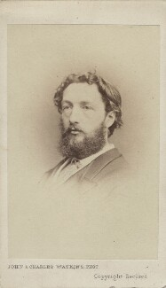 Frederic Leighton, Baron Leighton, by John & Charles Watkins, 1860s - NPG Ax14850 - © National Portrait Gallery, London