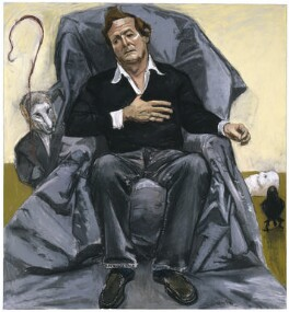 Sir David Hare, by Paula Rego, 2005 - NPG  - © National Portrait Gallery, London