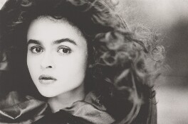 Helena Bonham Carter, by John Swannell, 1987 - NPG P717(2) - © John Swannell / Camera Press