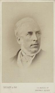 John Callcott Horsley, by Elliott & Fry, 1870s - NPG Ax14849 - © National Portrait Gallery, London