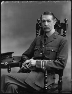 Sir John Pepys Lister-Kaye, 3rd Bt, by Bassano Ltd - NPG x127816