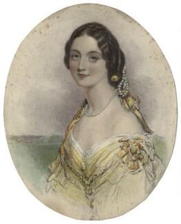 Emily Cadogan (née Ashworth), by William Henry Mote, after  John Hayter - NPG D21242
