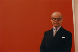 John Rothenstein, by Peter Keen, 1964 - NPG  - © estate of Peter Keen / National Portrait Gallery, London