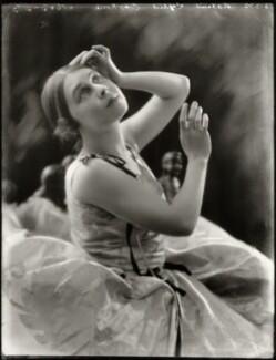 Lydia Lopokova, by Bassano Ltd, 10 October 1922 - NPG x127825 - © National Portrait Gallery, London