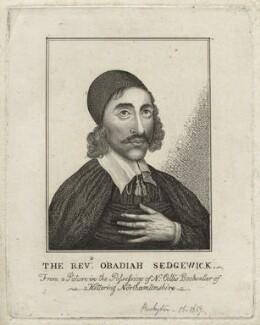 Obadiah Sedgwick, after Unknown artist - NPG D21244