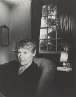 Judi Dench, by John Swannell, 1988 - NPG P717(6) - © John Swannell / Camera Press