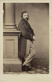 William Charles Thomas Dobson, by Maull & Polyblank, circa 1864 - NPG Ax14859 - © National Portrait Gallery, London