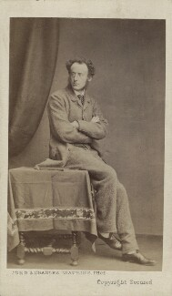 Sir John Everett Millais, 1st Bt, by John & Charles Watkins - NPG Ax14867