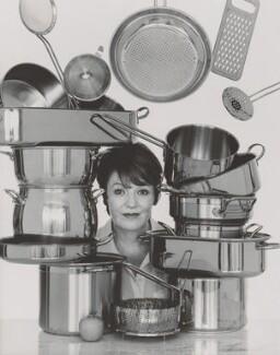 Delia Smith, by John Swannell, 1995 - NPG P717(13) - © John Swannell / Camera Press