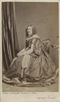 Henrietta Mary Ada Ward, by John & Charles Watkins - NPG Ax14896