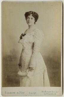 Dame Clara Ellen Butt, by Elliott & Fry - NPG x127903