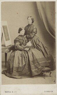 Martha Darley Mutrie; Annie Feray Mutrie, by Maull & Co - NPG Ax14904