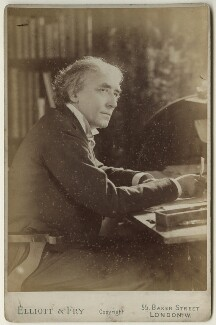 Sir Henry Irving, by Elliott & Fry - NPG x127920