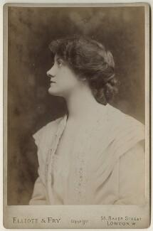 Delia Mason, by Elliott & Fry - NPG x127928