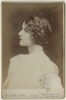 Edna May (Edna Pettie), by Elliott & Fry - NPG x127933