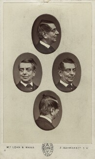 John Orlando Parry, by McLean & Haes, mid 1860s - NPG  - © National Portrait Gallery, London
