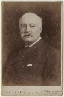 Sir (Charles) Hubert Hastings Parry, 1st Bt, by Elliott & Fry - NPG x127941